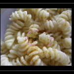 Fusilli con patate e curry