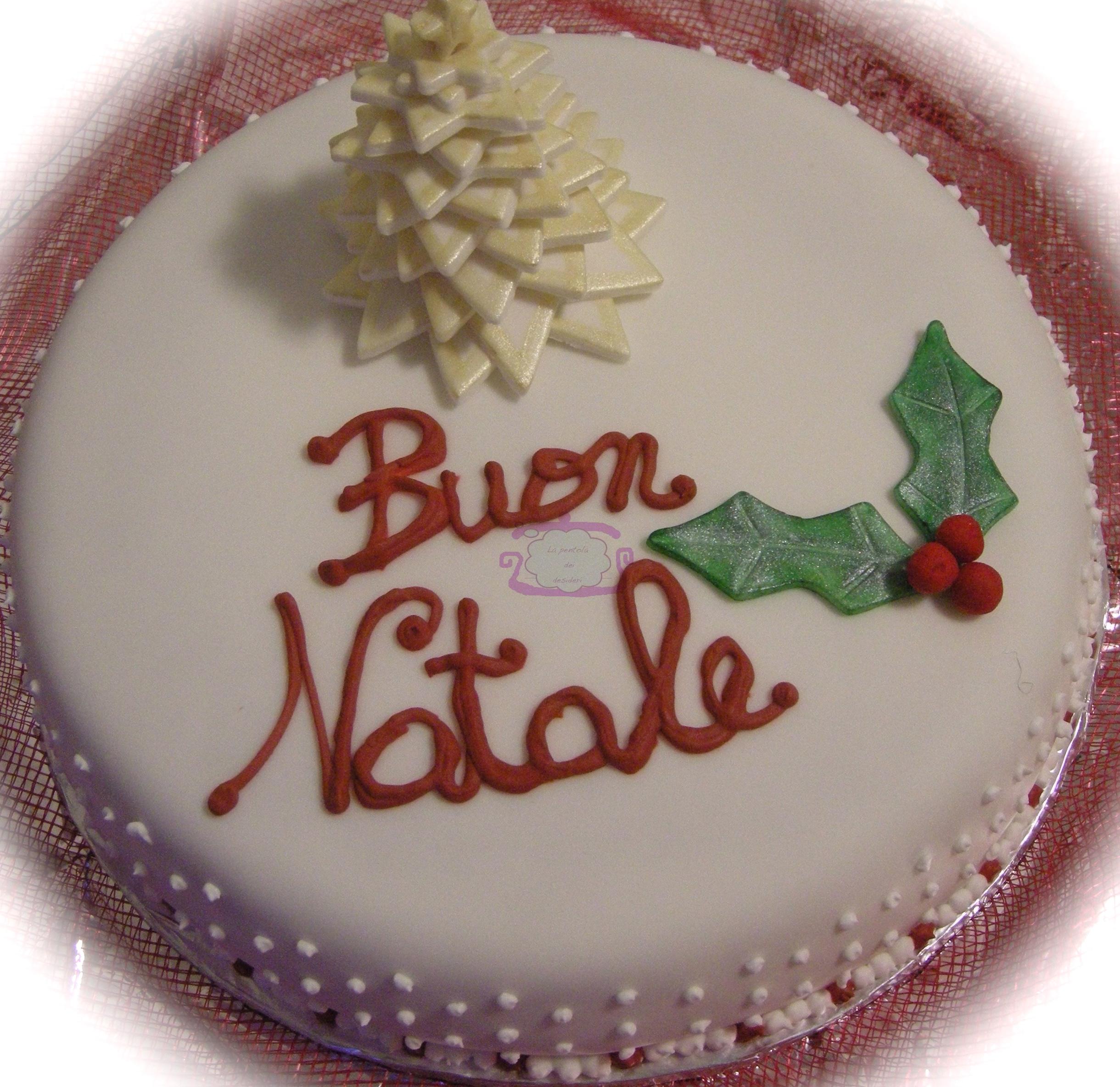 Torta Buon Natale