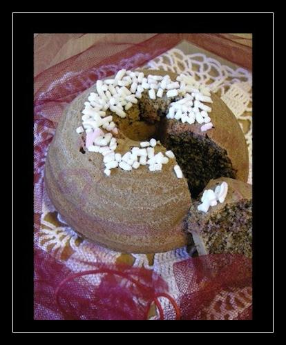 Ciambellina di grano saraceno e nocciole (gluten free)