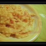 Mafaldine con crema di zucca e profumi dell