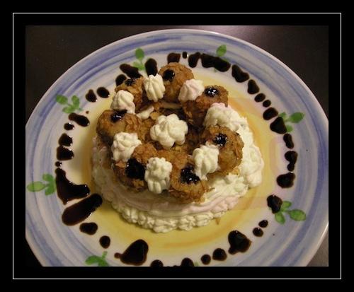 Saint Honorè salata con aceto balsamico