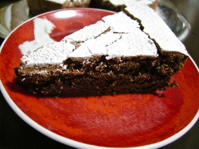 Torta al cioccolato del Chianti (la fetta)
