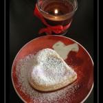 Cuor di sfoglia alla ricotta, torrone e cioccolato