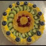 """Torta compleanno: """"E la frutta si fa torta"""""""