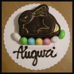 """Torta di Pasqua """"Coniglietto al cioccolato"""""""