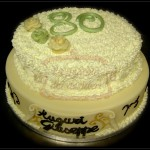 "Torta compleanno "" 80 """