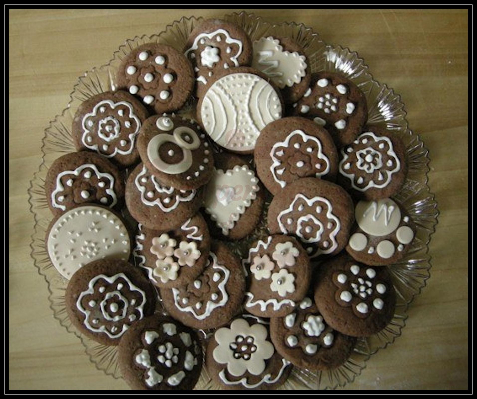 Biscottini al cacao e caffè