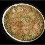 Torta verde di riso e cicoria