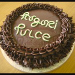 """Torta compleanno """"Scioglievolezza al cioccolato"""""""