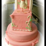 """Torta compleanno: """"Rosa carillon"""""""