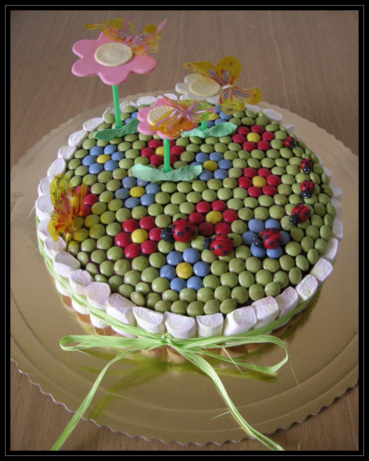 """Torta compleanno: """"Sette punti neri"""""""