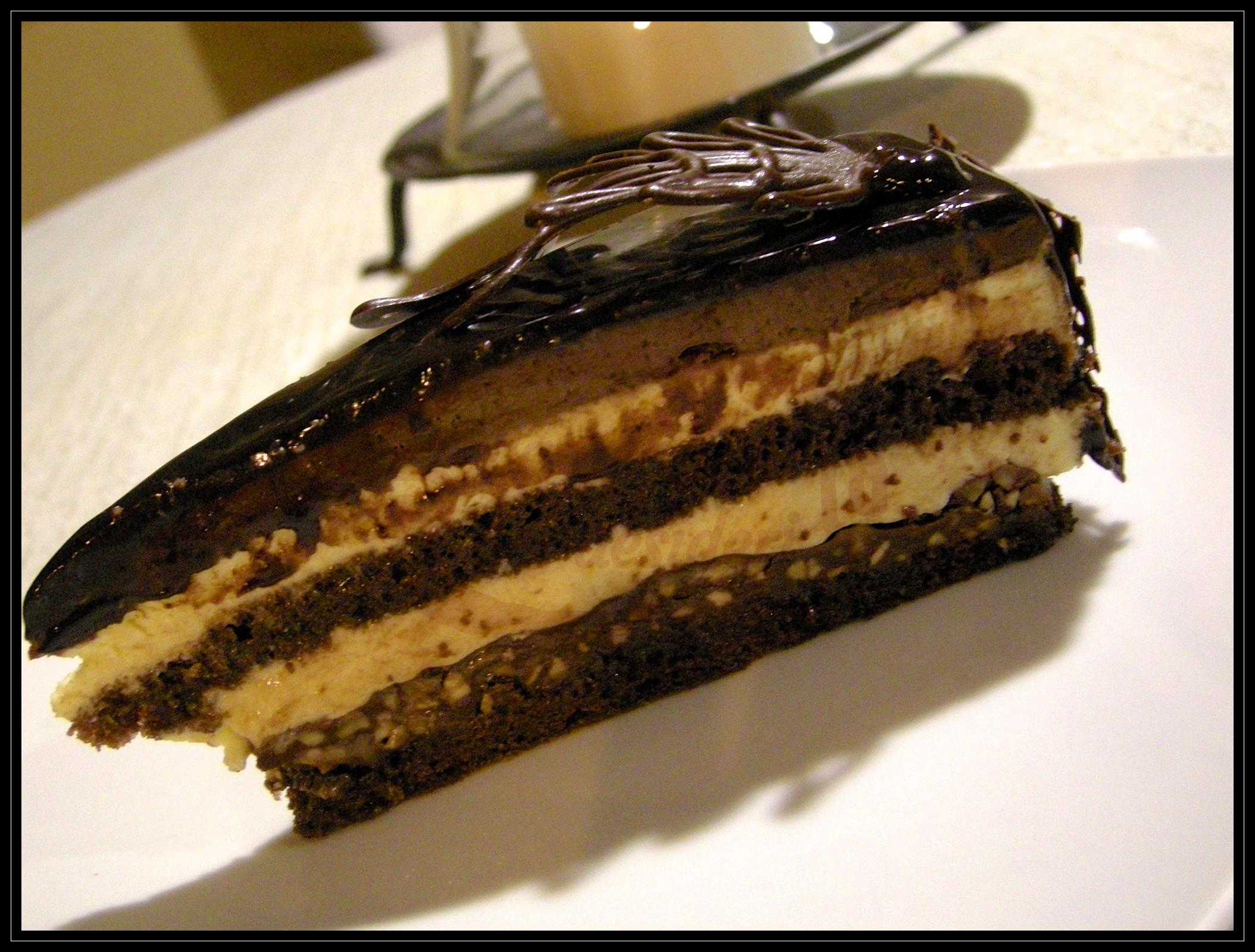 Torta sette veli al cioccolato e nocciola
