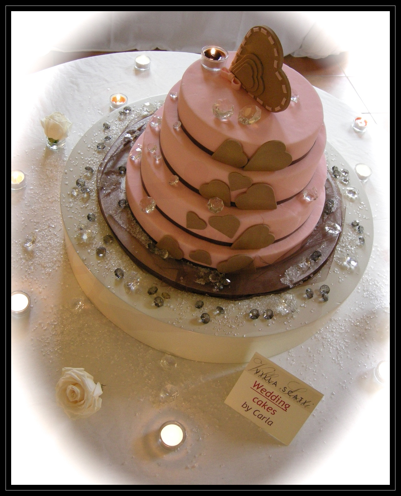 "Wedding Cake: ""Cascata d'amore"""