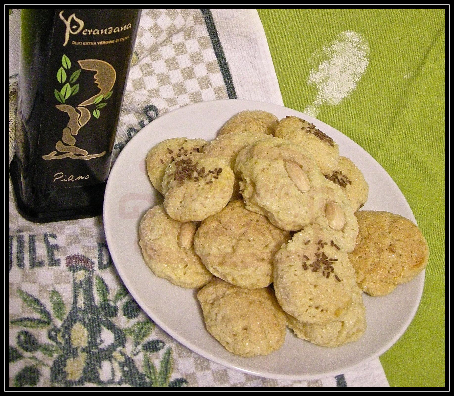 Pasticcini all'olio d'oliva