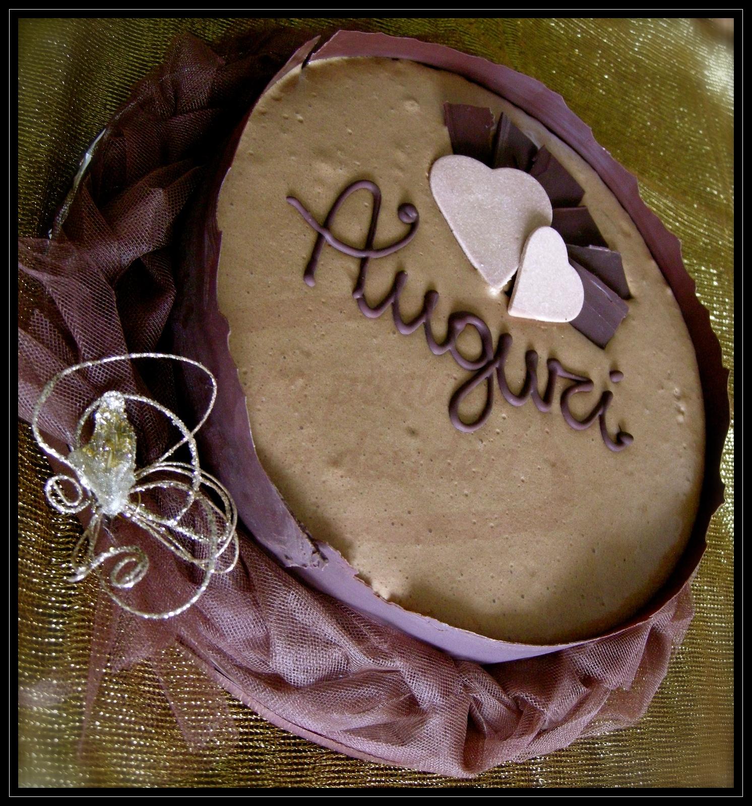 """Torta compleanno: """"Trionfo di cioccolato e nocciola"""""""