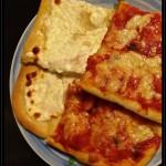 Pizza soffice in teglia