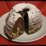Ciambella vaniglia e cacao