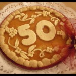 "Torta compleanno: ""50"""