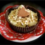 Coppette di cioccolato e crema allo zabaione al moscato e cannella