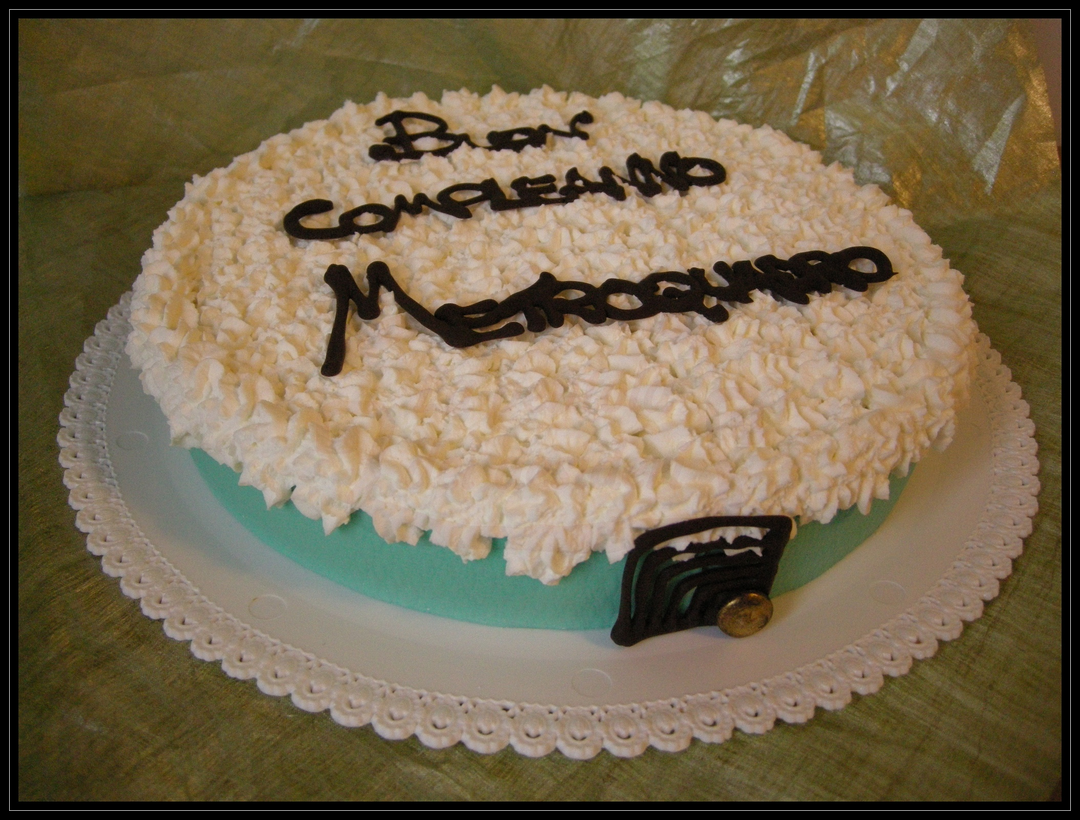 "Torta compleanno: "" m² """