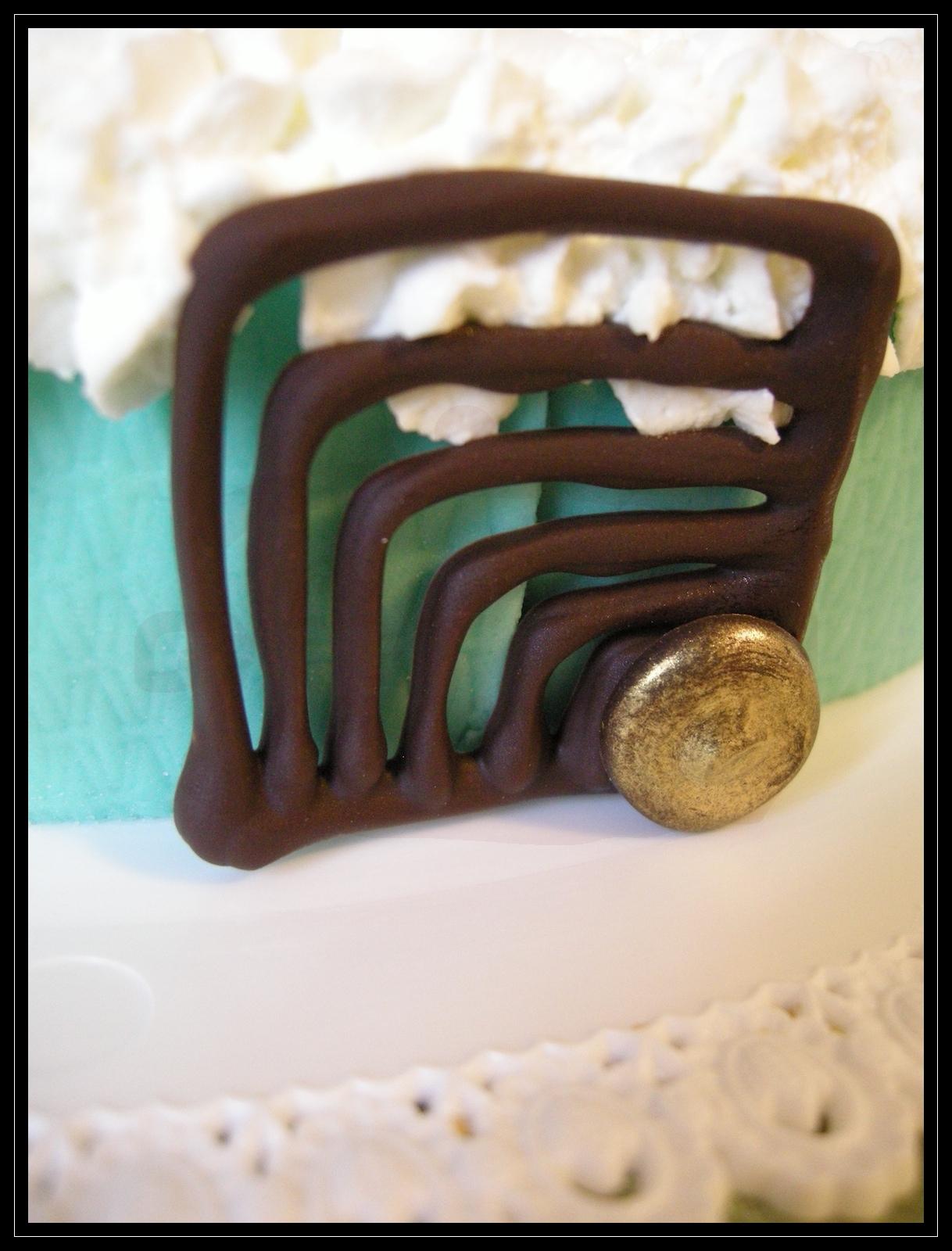 """Torta compleanno: """" m² """" (particolare)"""