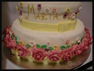"""Torta prima comunione:""""Dolce Marta"""""""