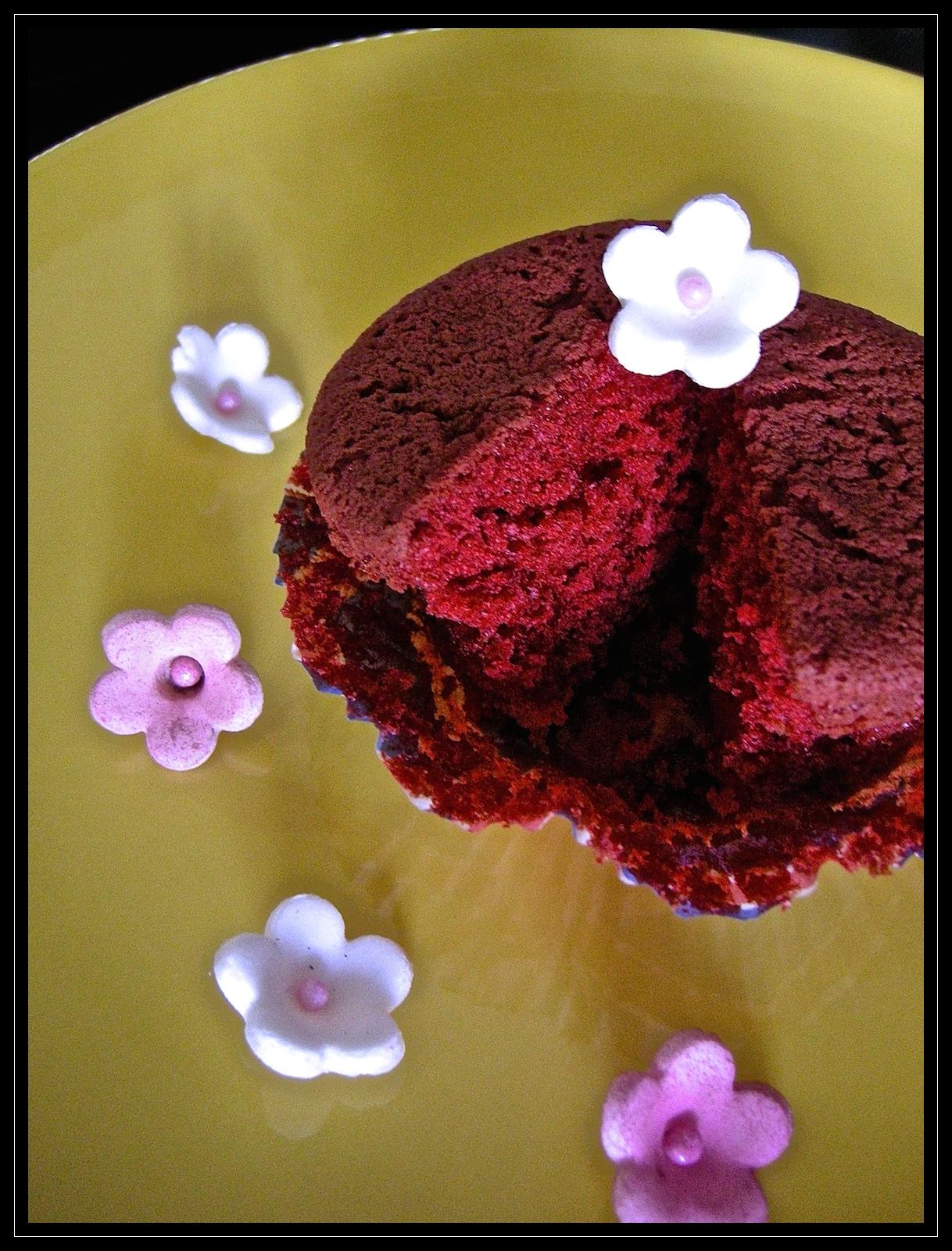 Red velvet cupcake (l'interno)