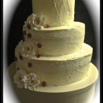 "Wedding cake: ""Velluto rosso"""