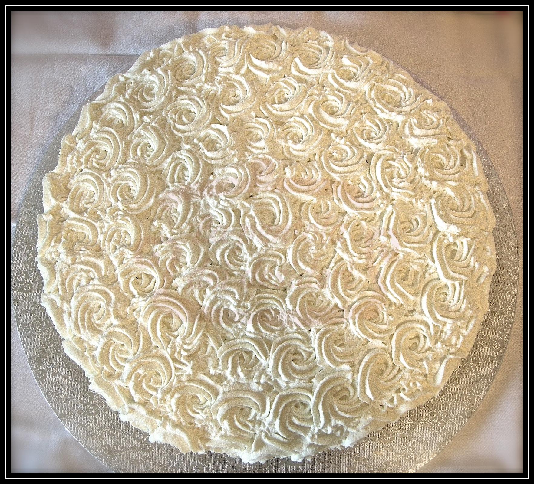 """Torta compleanno:""""Il caffè delle rose"""""""