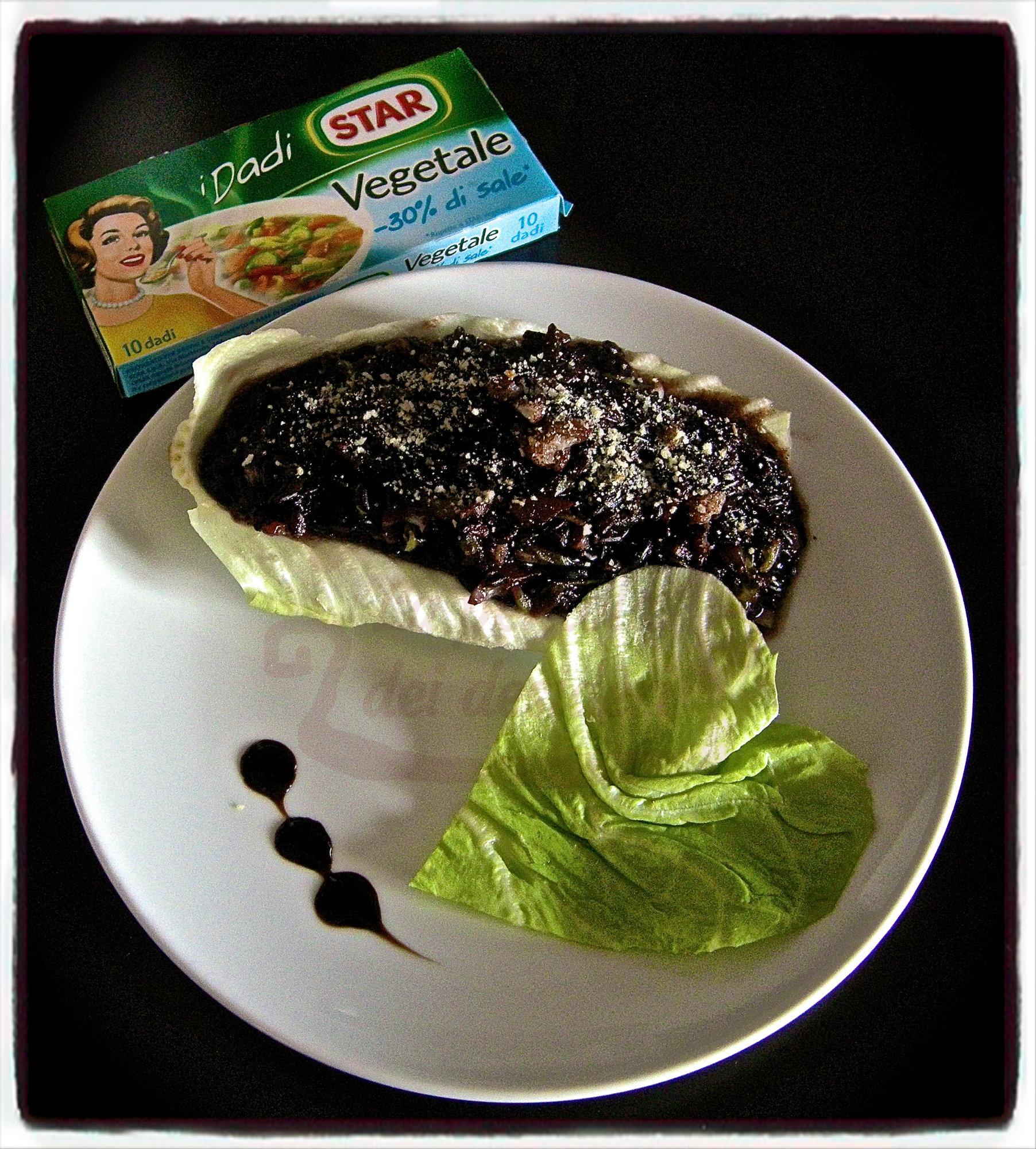 Riso venere con verdure al balsamico
