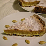 Crostata morbida con crema di zucca e mascarpone