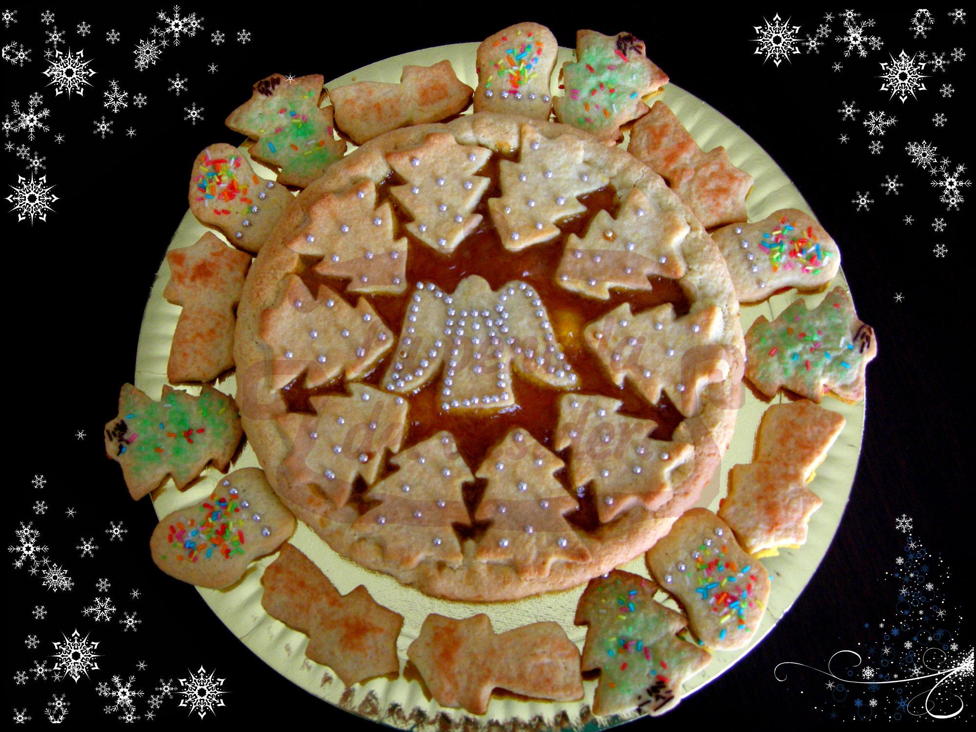 La crostata di Natale