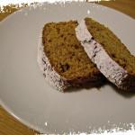 Plumcake alla zucca con nocciole ed amaretti