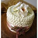 """Torta compleanno: """"Fior di panna"""""""