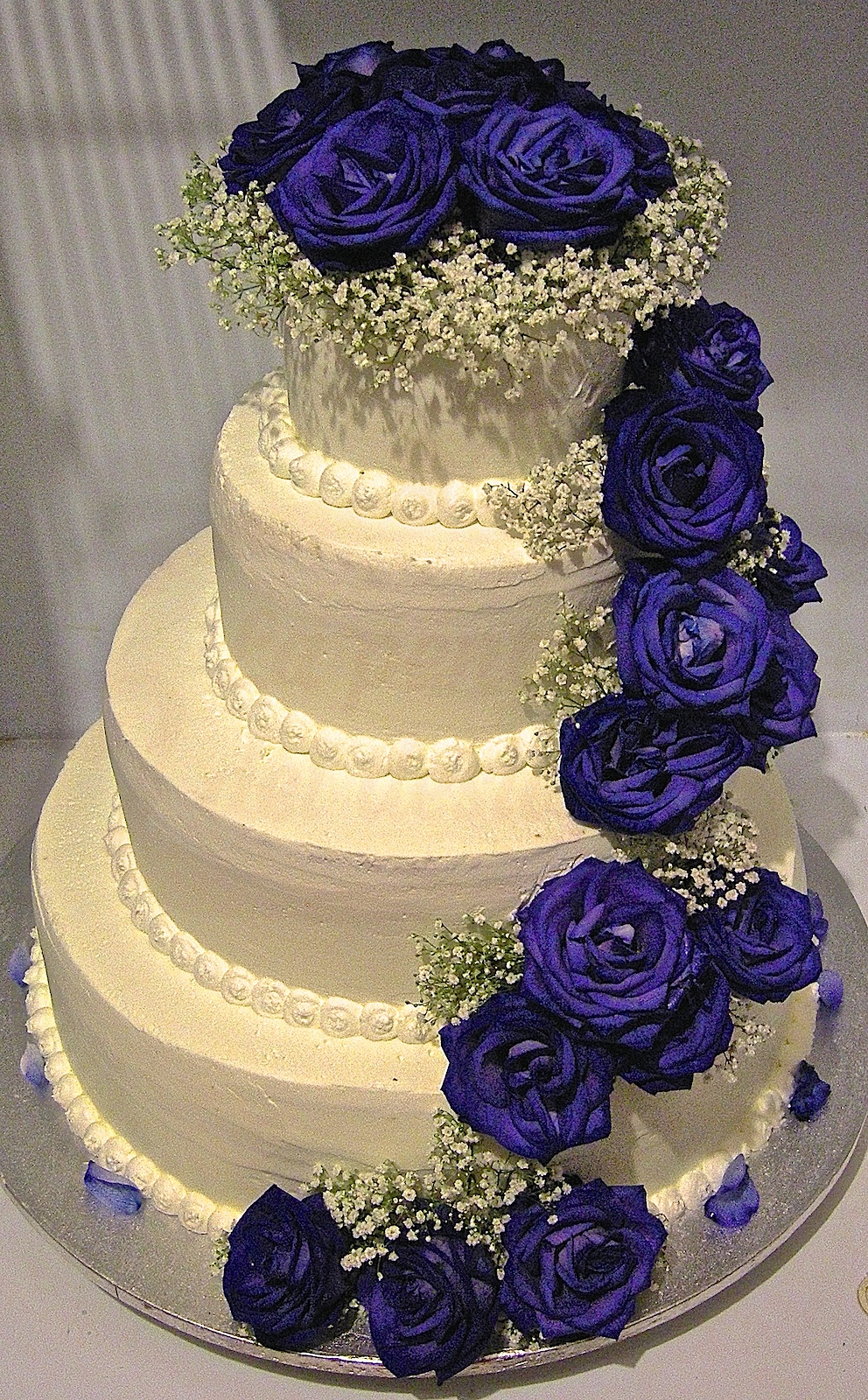 Matrimonio In Blu : Wedding cake quot blu come una rosa la pentola dei desideri
