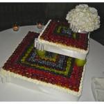 "Wedding cake: ""Amor di frutta"""