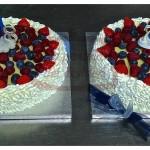 """""""Duble B-cake"""": un compleanno per due."""