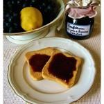 Confettura di uva e limone