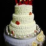 "Weddingcake: ""LOVE cake"""