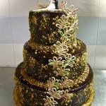 "Wedding cake: ""Amore a sette veli"""