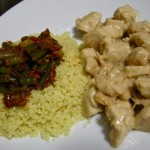 Spezzatino di pollo con cuscus