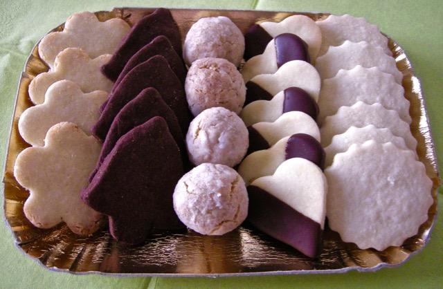 Fantasia di biscotti di riso
