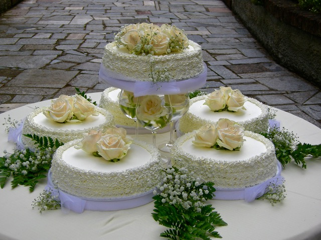 "Wedding cake: ""Romantico amore"""