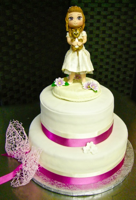 "Torta comunione: ""Ginevra"""