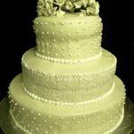 "Wedding cake:""Ortensie, pizzo e tanto amore"""
