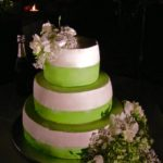 "Wedding cake: ""Green & Love"""