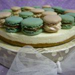 Macarons cheesecake